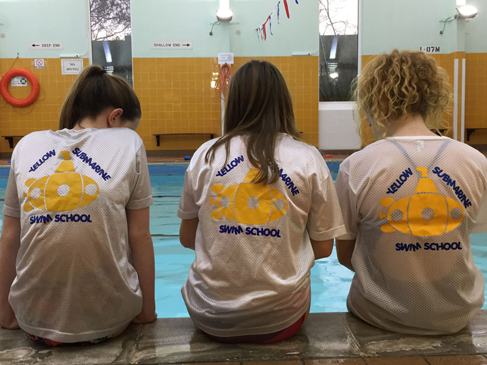 swimming school swim helpers